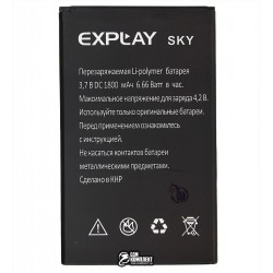 Аккумулятор (акб) для Explay Sky, (Li-polymer 3.7V, 1800мАч)