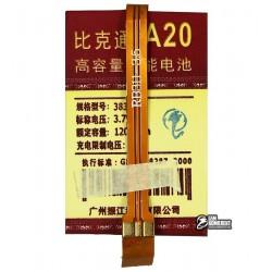 Аккумулятор универсальный для телефона, A20 1200mAh 52,8*34*4 мм