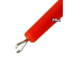 Щуп-крючок прямоугольный TCOM, красный