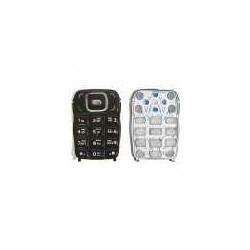 Клавиатура для Nokia 6131, черная, русская