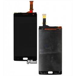Дисплей для OnePlus 2, черный, с сенсорным экраном (дисплейный модуль)