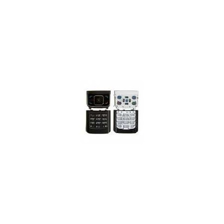 Клавиатура для Nokia 6288, черная, русская, верхняя, нижняя