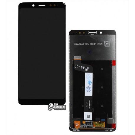 Дисплей для Xiaomi Redmi Note 5, черный, с сенсорным экраном, Original (PRC)