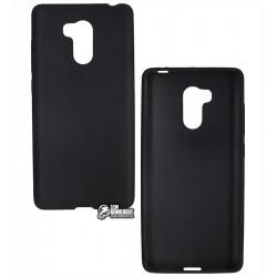 Чехол защитный для Xiaomi Redmi 4 Prime, силиконовый, черный