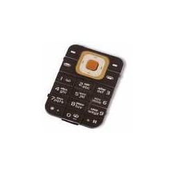 Клавиатура для Nokia 7370, черная, русская