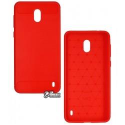 Чехол защитный для Nokia 2 Dual SIM, Polished Carbon (SGP Slim Iron), силиконовый