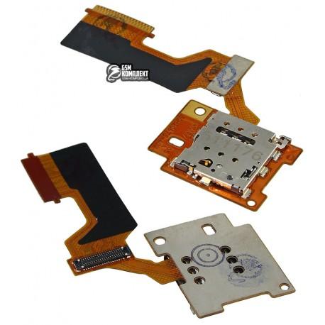 Коннектор SIM-карти для HTC One M9, со шлейфом