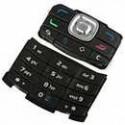 Клавиатура для Nokia N80, серебристая, русская