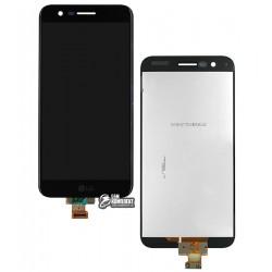 Дисплей для LG K10 (2017) M250, K10 (2017) X400, черный, с сенсорным экраном (дисплейный модуль), original (PRC)