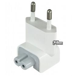 Вилка переходник (A1561) EU (евро) для блоков питания Apple (A1401)