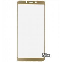 Закаленное защитное стекло для Xiaomi Redmi 6, Redmi 6A, 0,26 мм 9H, 2.5D, золотистое