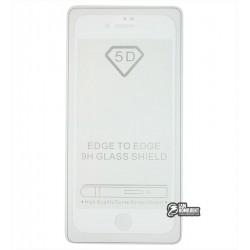 Закаленное защитное стекло для Apple iPhone 7 / iPhone 8, Full Glue, 0,26 мм 9H, белое