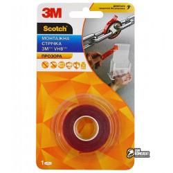 3M™ 4905F Двухсторонний скотч VHB 12мм х 2м, толщина 0.5мм