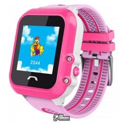 Детские часы DF27, с 1.22' OLED дисплеем и GPS трекером, водонепроницаемые