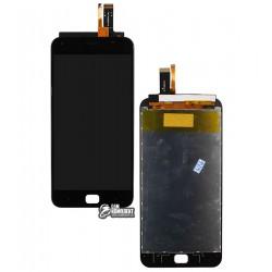 Дисплей для UMI Touch, Touch X, черный, с сенсорным экраном (дисплейный модуль)