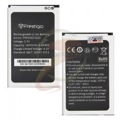 Аккумулятор для Prestigio MultiPhone 3503, 3505, 3509, 3519, оригинал, (Li-ion 3.7V 1800mAh)