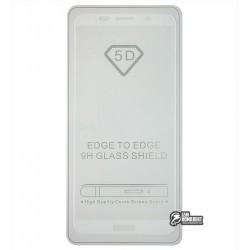 Закаленное защитное стекло для Huawei Y5 (2018) / Honor 7s, 0,26 мм, 9H, 2.5D, Full Glue, белое
