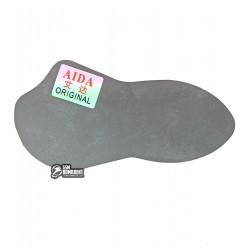 Карта металлическая, фигурная AIDA A-UT03 для отделения дисплея от рамки, толщина 0.12 мм