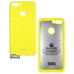 Чехол защитный для Huawei P Smart, Molan Shining, силиконовый