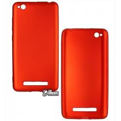 Чехол для Xiaomi Redmi 4A, силиконовый, матовый