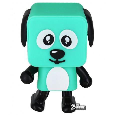 Портативная колонка Nomi Dancing Dog BT 911, зеленая