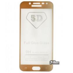 Закаленное защитное стекло для Samsung J530 Galaxy J5 (2017), Full Glue, 0,26 мм 9H