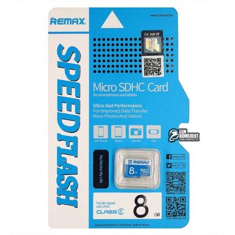Карта памяти 8 GB microSD Remax Class 10