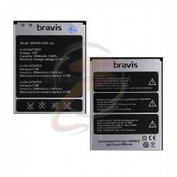 Аккумулятор на Bravis Joy A503, оригинал,(Li-ion 3.7V 2000mAh)