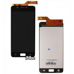 Дисплей для Asus ZenFone 4 Max (ZC520KL), черный, с сенсорным экраном (дисплейный модуль)