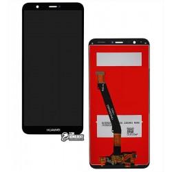 Дисплей для Huawei P Smart, черный, с сенсорным экраном (дисплейный модуль), Original (PRC)