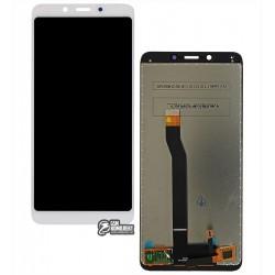 Дисплей для Xiaomi Redmi 6, белый, с сенсорным экраном (дисплейный модуль), Original (PRC)