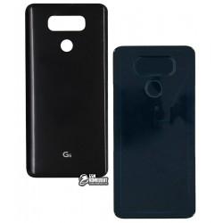 Задняя крышка батареи для LG G6 H870, G6 H870K, черная