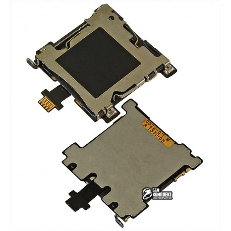 Коннектор SIM-карты для HTC One M7 801e, со шлейфом