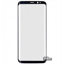 Стекло корпуса для Samsung G950F Galaxy S8, черное