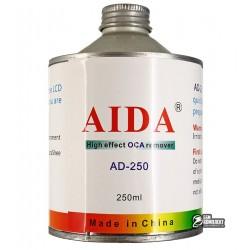 Растворитель AIDA AD-250 для удаления остатков OCA клея, 250мл