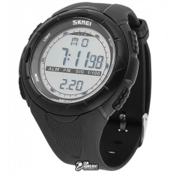 Мужские цифровые кварцевые часы Skmei 1025, waterproof