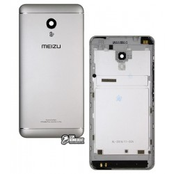 Задняя крышка батареи для Meizu M5s, серебристая