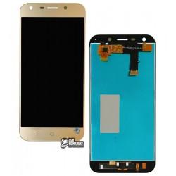 Дисплей для ZTE Blade A6 A0620, Blade A6 lite A0621, золотистый, с сенсорным экраном (дисплейный модуль)