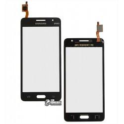 Тачскрин для Samsung G531H/DS Grand Prime VE, серый, #BT541C