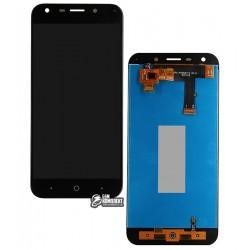 Дисплей для ZTE Blade A6 A0620, Blade A6 lite A0621, черный, с сенсорным экраном (дисплейный модуль)