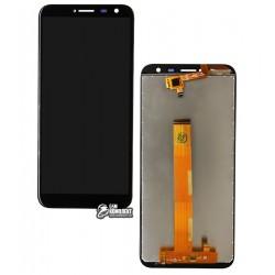 Дисплей для Oukitel C8, черный, с сенсорным экраном (дисплейный модуль)