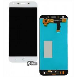 Дисплей для ZTE Blade A6 A0620, Blade A6 lite A0621, белый, с сенсорным экраном (дисплейный модуль)