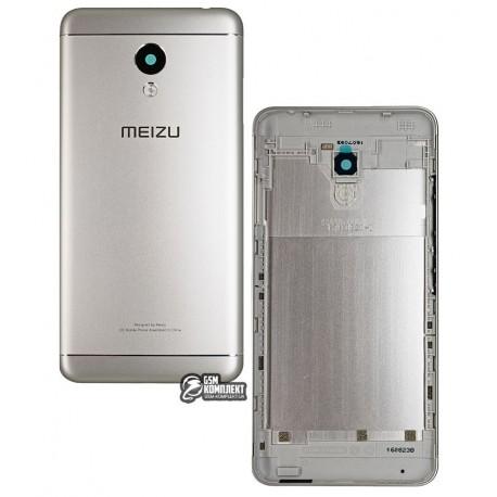 Задняя крышка батареи для Meizu M3s, серебристая