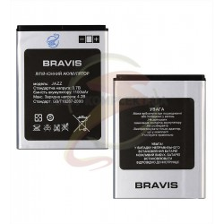 Аккумулятор на Bravis Jazz (Li-ion 3.7V 1100mAh)