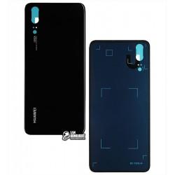 Задняя панель корпуса для Huawei P20, черная