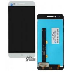 Дисплей для ZTE Blade A610, белый, с сенсорным экраном, Original (PRC)