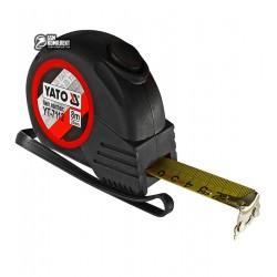 Рулетка с магнитным наконечником и нейлоновым покрытием b=25мм, l=8мм
