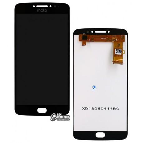 Дисплей для Motorola XT1771 Moto E4 Plus, черный, с сенсорным экраном (дисплейный модуль), original (PRC)