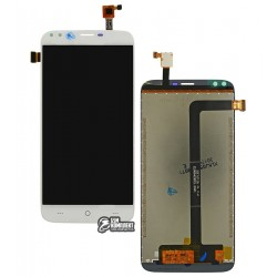 Дисплей для Doogee X30, белый, с сенсорным экраном, Original (PRC)