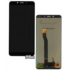 Дисплей для Xiaomi Redmi 6, черный, с сенсорным экраном (дисплейный модуль), Original (PRC)